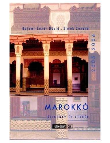 Marokkó útikönyv és térkép