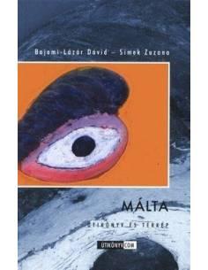 Málta útikönyv és térkép