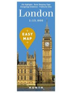 London – Urlaubskarte EASY MAP