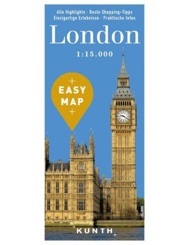 London – Urlaubskarte EASY MAP