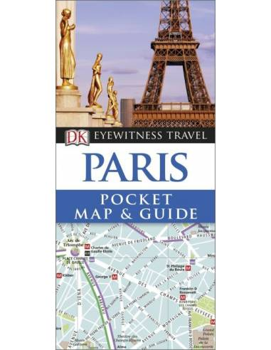 Paris Eyewitness Pocket Map and Guide