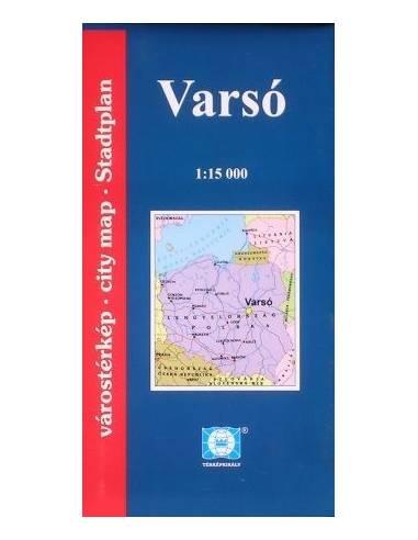 Varsó térkép