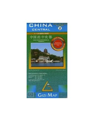Kína 2.: Central - Közép térkép
