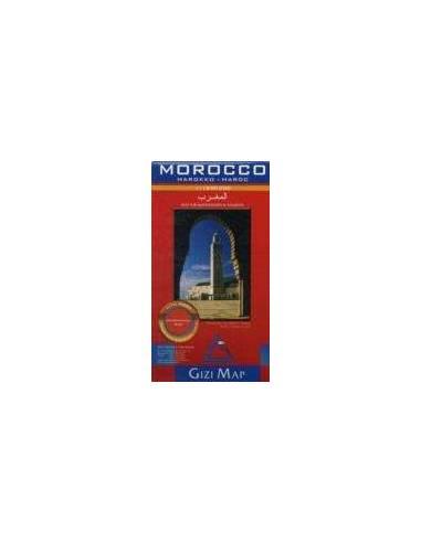 Marokkó - Morocco térkép