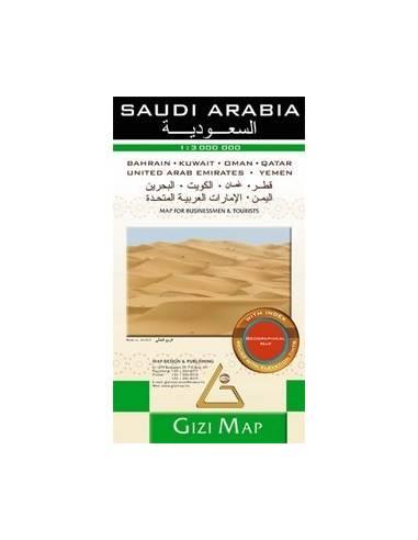 Saudi Arabia - Szaud-Arábia térkép