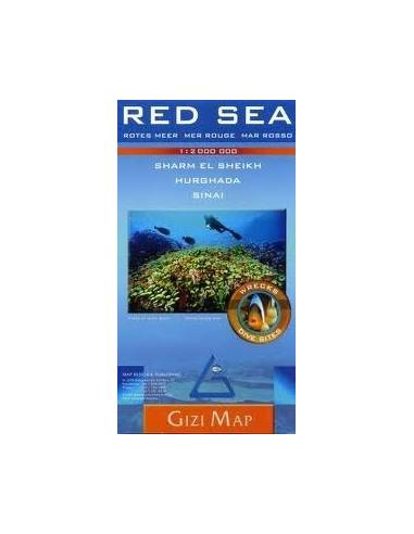 Vörös-tenger - Red Sea térkép