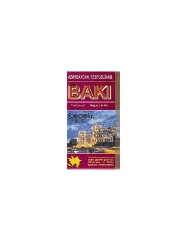 Baku - Baki térkép