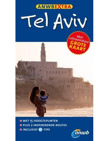 Tel Aviv extra térképes útikönyv