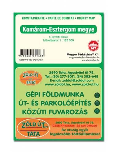 Komárom-Esztergom megye térkép