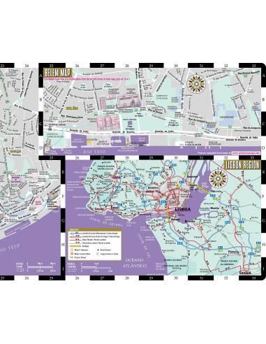 Streetwise Lisbon Map Lisszabon Terkep
