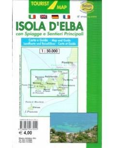 Isola D'Elba túristatérkép...