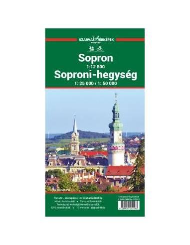 Sopron - Soproni-hegység turistatérkép