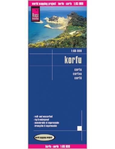 RKH Corfu - Korfu térkép