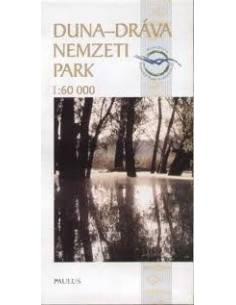Duna-Dráva Nemzeti Park térkép