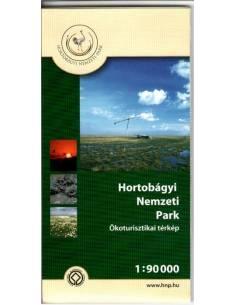 Hortobágyi Nemzeti Park térkép