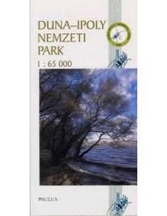 Duna-Ipoly Nemzeti Park térkép