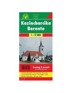 Kazincbarcika / Berente térkép