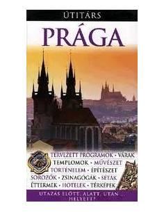 Prága útikönyv Útitárs
