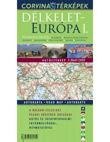 Európa - Délkelet I. Horvátország,...