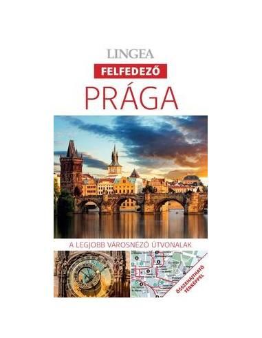 Prága Felfedező útikönyv + térkép -...