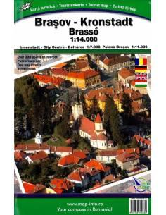 Brassó(Brasov) várostérkép