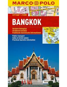 Bangkok City Map - MARCO POLO