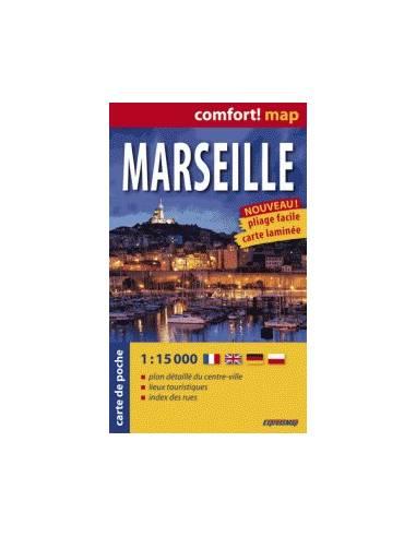 Marseille comfort! map zsebtérkép