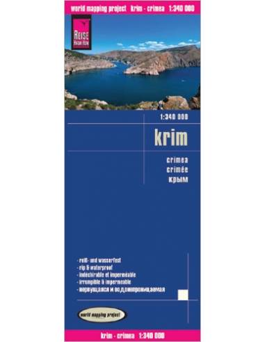 RKH Krim - Krím-félsziget térkép