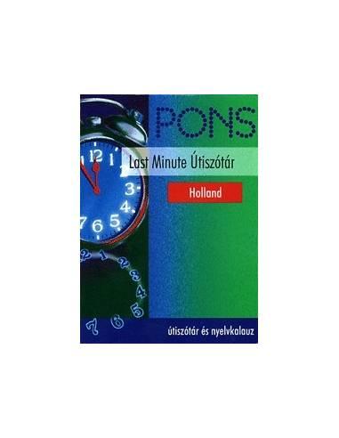 Holland szótár Pons Last Minute
