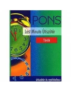 Török szótár Pons Last Minute