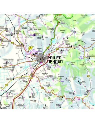 Macedónia térkép TOP10TIPP