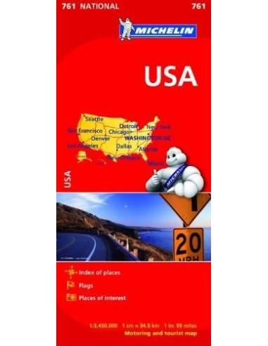 MN 761 USA térkép