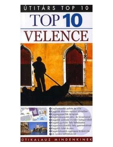 Velence útikönyv Top 10 Útitárs