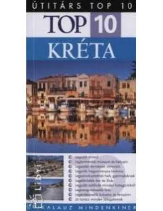 Kréta útikönyv Top 10 -...