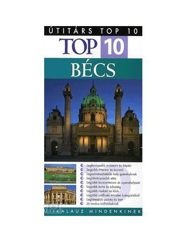 Bécs útikönyv Top 10 - Útitárs