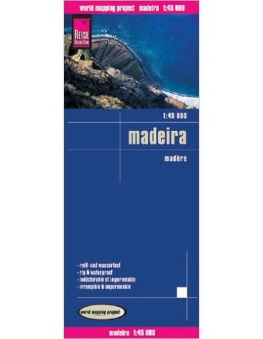 RKH Madeira térkép