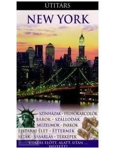 New York útikönyv Útitárs