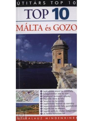 Málta és Gozo útikönyv Top 10 - Útitárs