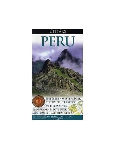 Peru útikönyv Útitárs