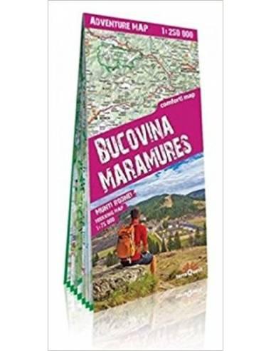 Bukovina, Máramarosi havasok térkép -...