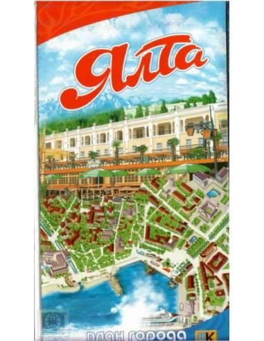 Jalta Panoráma térkép