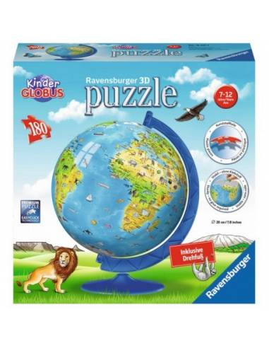 Ravensburger puzzle földgömb
