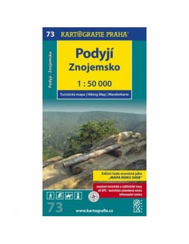 73 Podyjí, Znojemsko turistatérkép