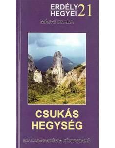 21 Csukás-hegység útikönyv...