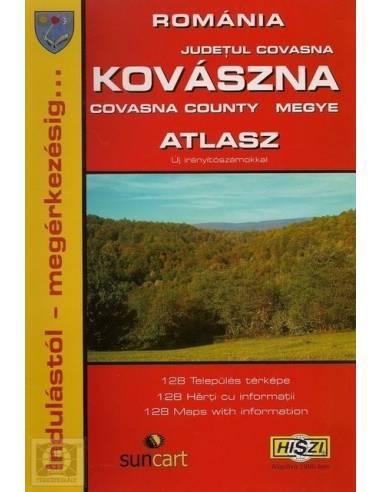 Kovászna megye településeinek atlasza