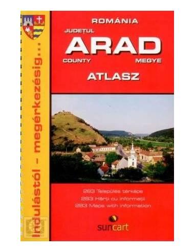 Arad megye településeinek atlasza
