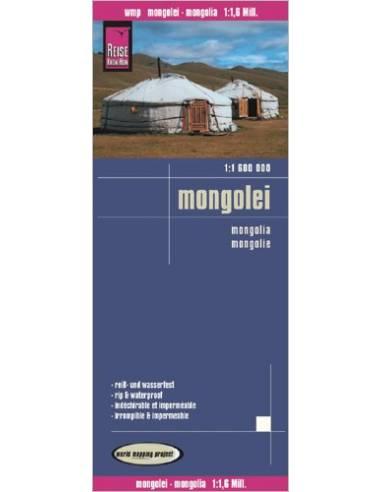 RKH Mongolei - Mongólia térkép