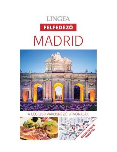Madrid - Felfedező útikönyv + térkép...