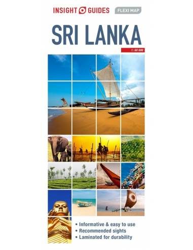 Sri Lanka Insight Guides Flexi Map