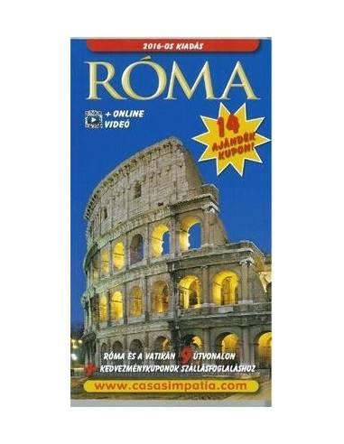 Róma, az örök város útikönyv